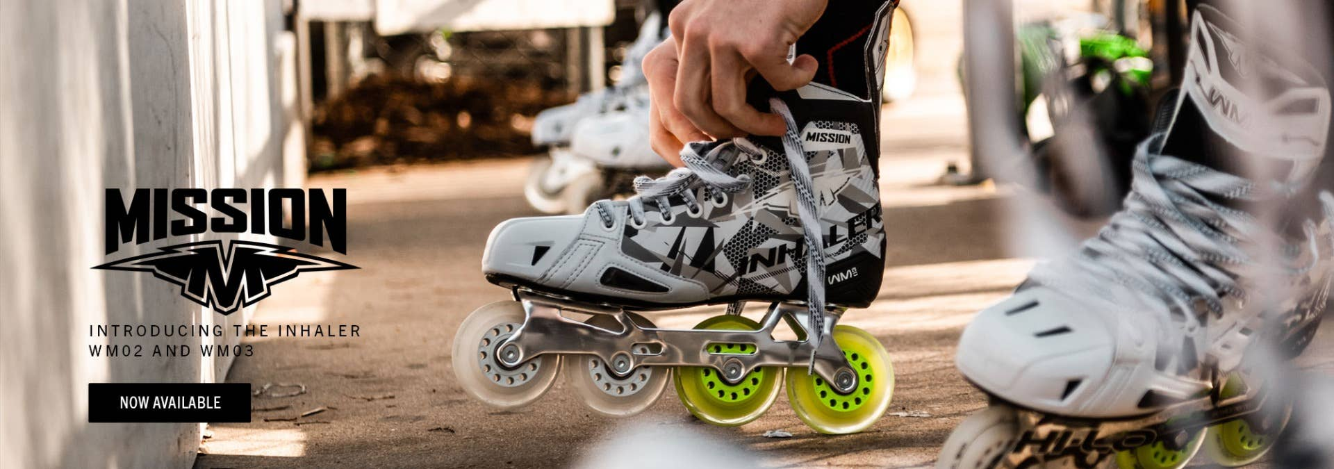 Mission Inhaler Roller Hockey Skates