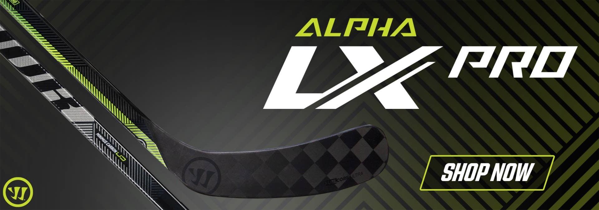Warrior Alpha LX Hockey Sticks