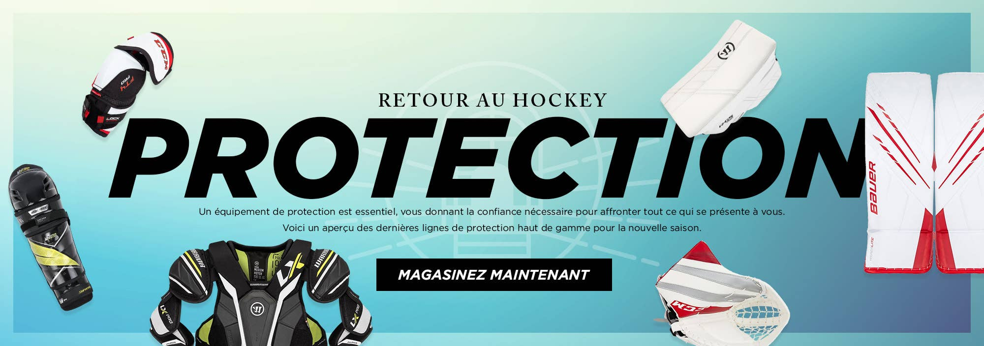 Retour au Hockey: Protection