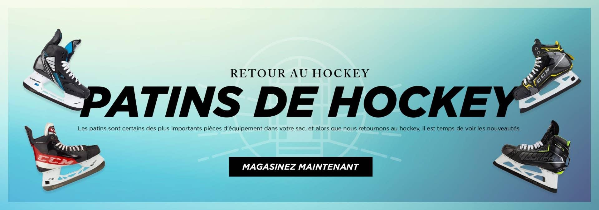 Retour au Hockey: Patins