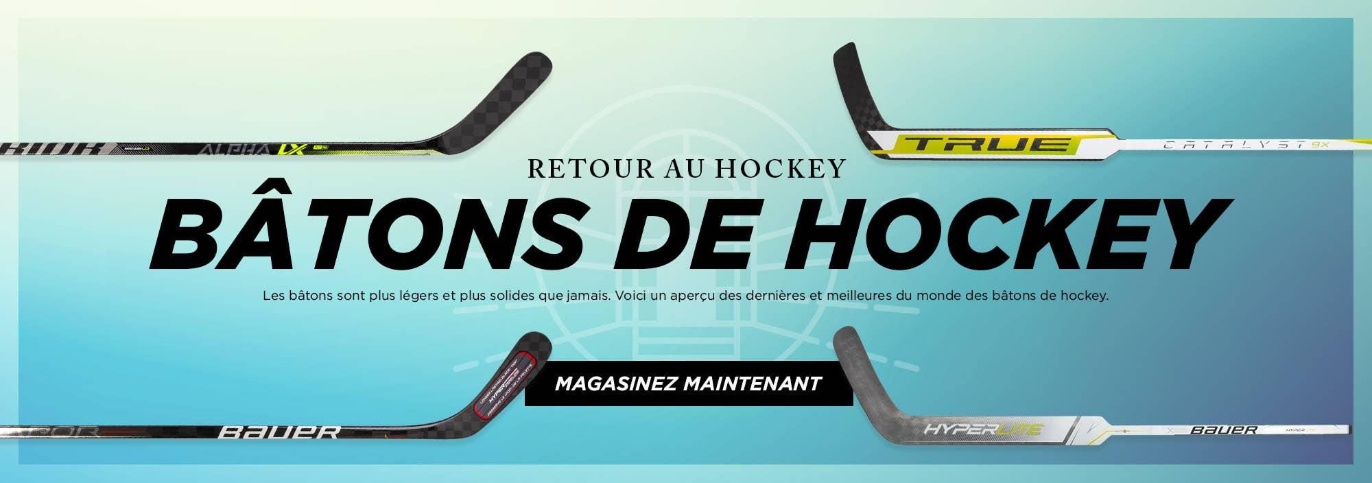 Retour au Hockey: Bâtons de Hockey
