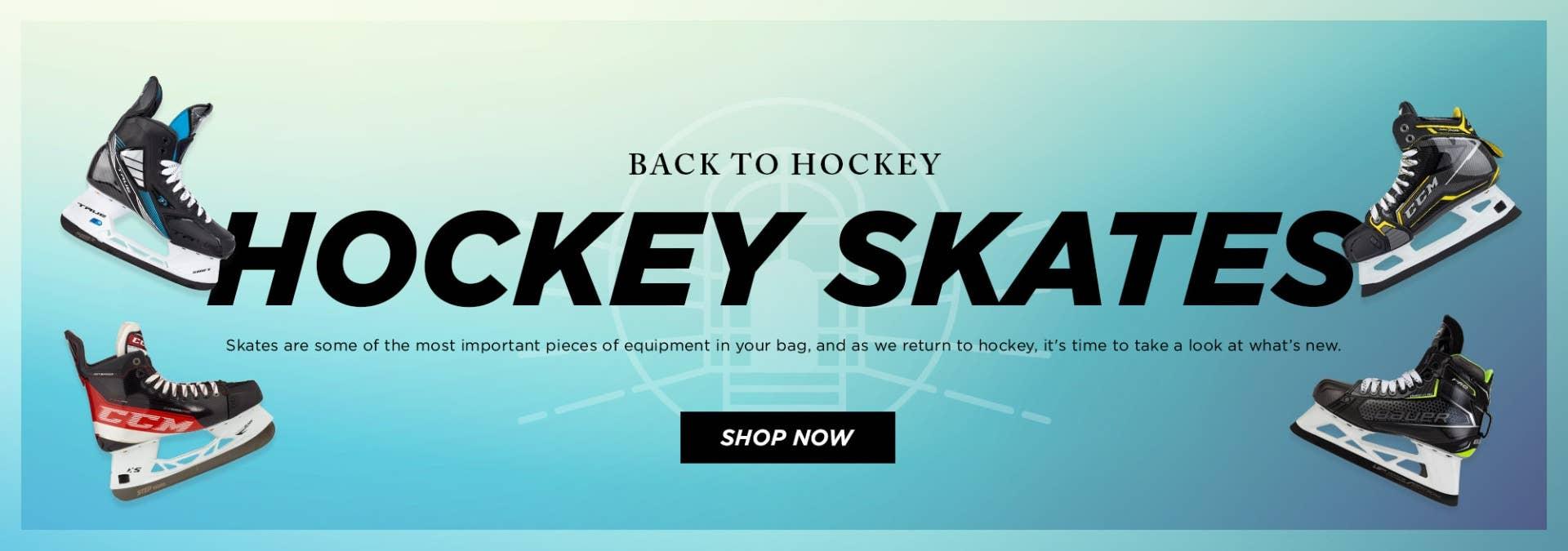 Back to Hockey: skates