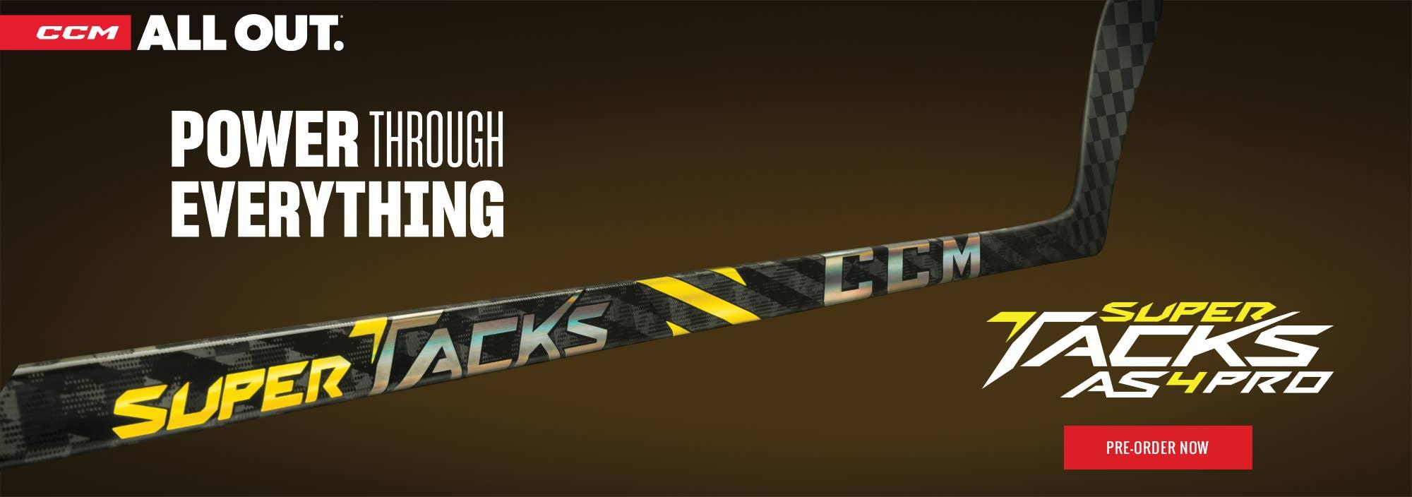 CCM Super Tacks AS4 Pro Hockey Sticks