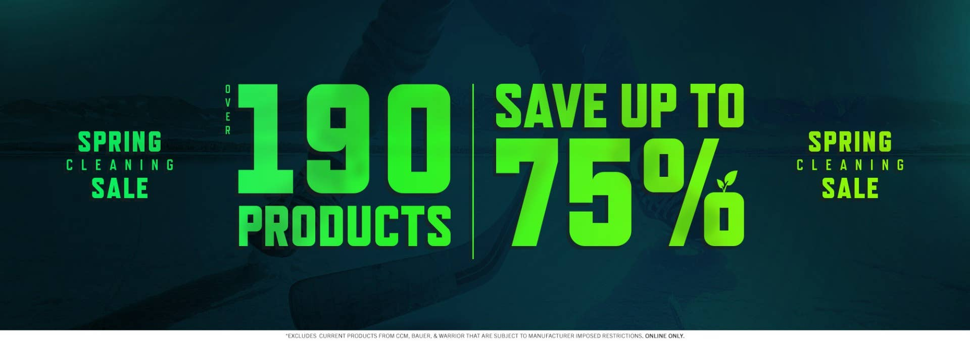 Spring Cleaning Sale: Save up to 75% on over 190 products