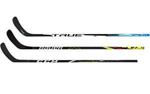 Bâtons de hockey composite