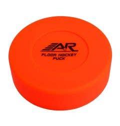 A&R Orange Hockey Floor Puck