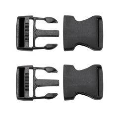 """Bauer Goalie Chest & Arm Protector 2"""" Replacement Buckles - 2 Pack"""