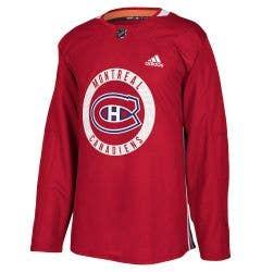 Montreal Canadiens Adidas Authentic Practice Hockey Jersey