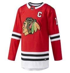 Chicago Blackhawks Toews Adidas Authentic Pro NHL Hockey Jersey