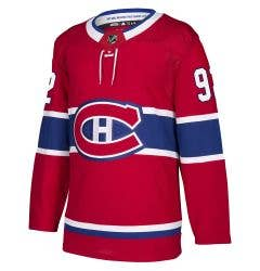 Montreal Canadiens Drouin Adidas Authentic Pro NHL Hockey Jersey