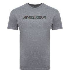 Bauer Hockey Camo Logo Short Sleeve Tee Shirt