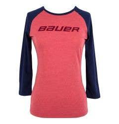Bauer Women's 3/4 Sleeve Tee Shirt