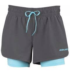 Bauer Women's 2-in-1 Training Shorts