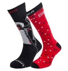 Bauer 2017 Holiday Novelty Socks - 2 Pack