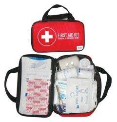 Blue Sports First Aid Kit