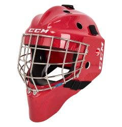 CCM Carbon 1.5 Youth Certified Straight Bar Goalie Mask