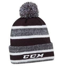 CCM Core Heathered Pom Knit Adult Beanie