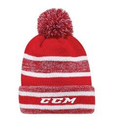 CCM Core Heathered Pom Knit Youth Beanie