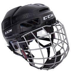 CCM Fitlite 3DS Junior Hockey Helmet Combo