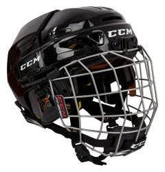 CCM FL3DS Youth Hockey Helmet Combo