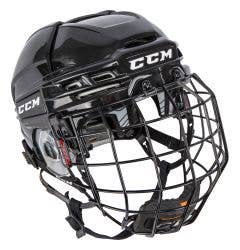 CCM Tacks 910 Hockey Helmet Combo