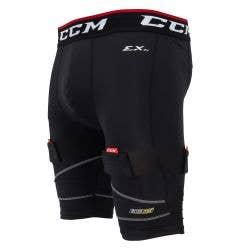 CCM Pro Compression Senior Jock Shorts w/Cup