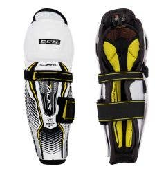 CCM Super Tacks Youth Hockey Shin Guards