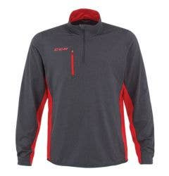 CCM T5570 Training Tech Top Adult 1/4 Zip Pullover Sweatshirt