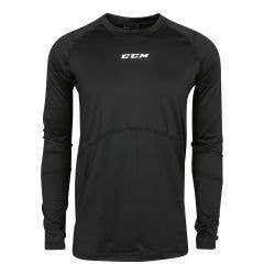 CCM Compression Top Senior Long Sleeve Shirt
