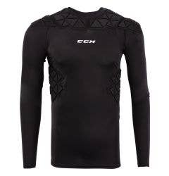 CCM Padded Junior Player Long Sleeve Shirt