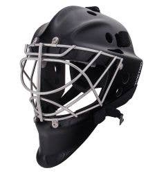 Coveted Senior 906 Pro Non-Certified Cat Eye Goalie Mask w/ Square Bar Cage