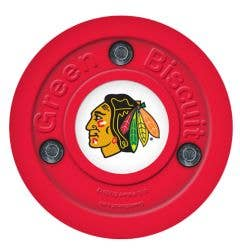 Chicago Blackhawks Green Biscuit Training Puck