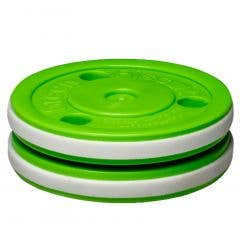 Green Biscuit 5oz. Pro Training Puck - Green/White