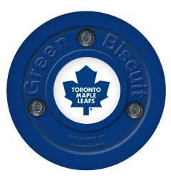 Toronto Maple Leafs Green Biscuit Training Puck