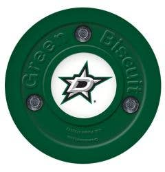 Dallas Stars Green Biscuit Training Puck