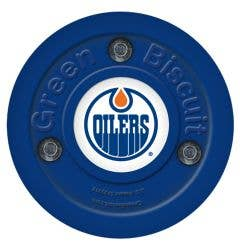 Edmonton Oilers Green Biscuit Training Puck