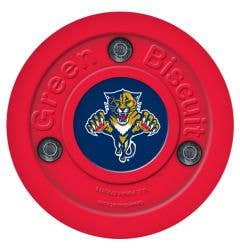 Florida Panthers Green Biscuit Training Puck