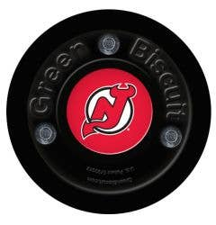 New Jersey Devils Green Biscuit Training Puck