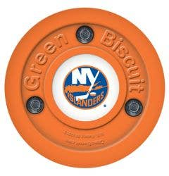 New York Islanders Green Biscuit Training Puck