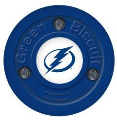 Tampa Bay Lightning Green Biscuit Training Puck