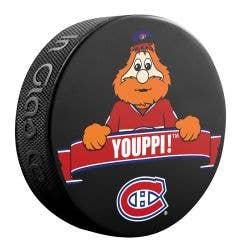 Montreal Canadiens NHL Mascot Souvenir Puck