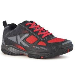 Knapper AK5 Men's Street Hockey Shoes - Black/Red