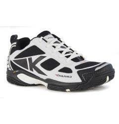 Knapper AK5 Men's Street Hockey Shoes - White/Black
