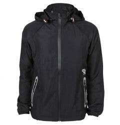 Monkey Sport by Pepper Foster - Sleek Fit Adult Jacket (Black/Blue)