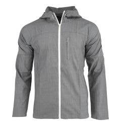 Monkey Sport by Pepper Foster - Woven Adult Zip Up Jacket (Gray)