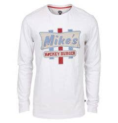 Monkey Sport by Pepper Foster - Bike Mikes Adult Long Sleeve Shirt (White)