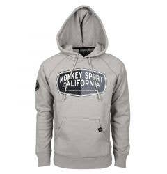 Monkey Sport by Pepper Foster - Gasoline Adult Pullover Hoody (Grey)