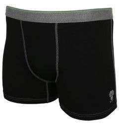 Monkey Sport by Pepper Foster - Tightie Whitey Adult Boxer (Black)