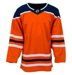 Edmonton Oilers MonkeySports Uncrested Adult Hockey Jersey