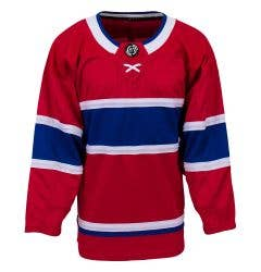 Montreal Canadiens MonkeySports Uncrested Adult Hockey Jersey